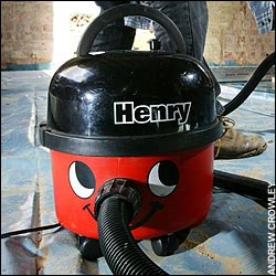 henry the hoover!