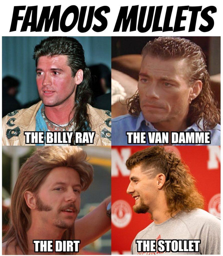 Famous Mullets