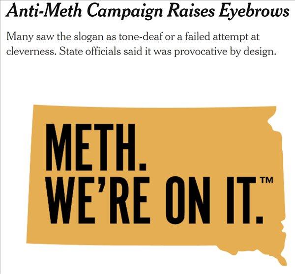 South Dakota Meth