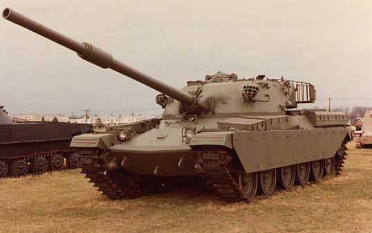 Now that's a tank.
