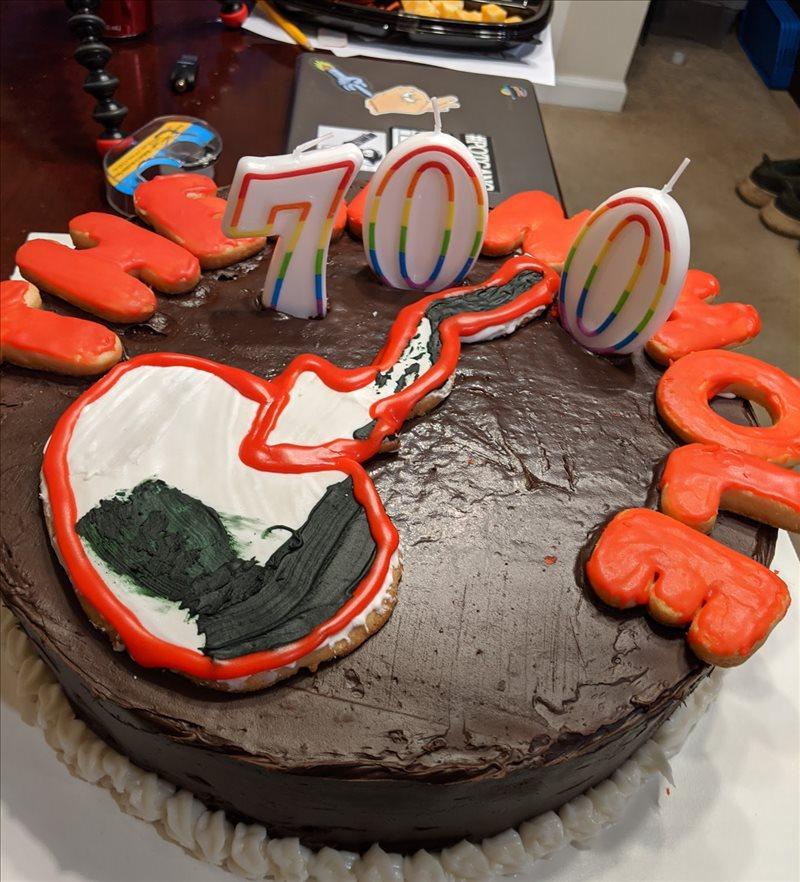 Happy 700 Episodes of the Jamhole