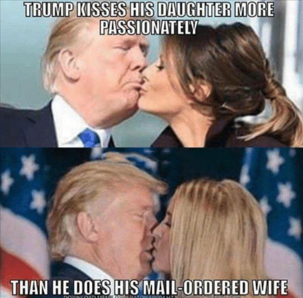 Trump Kisses