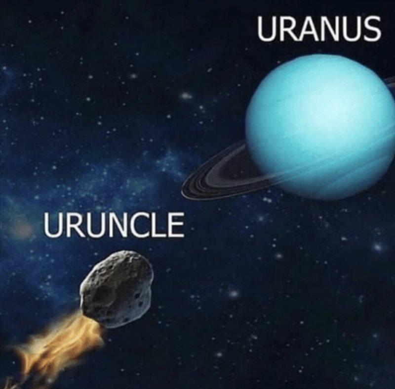 Uranus Meme